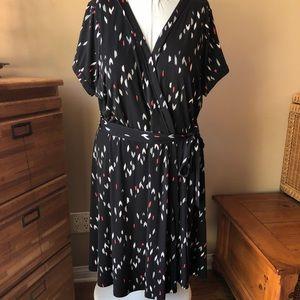 Torrid Faux Wrap Dress (Torrid Size 3)
